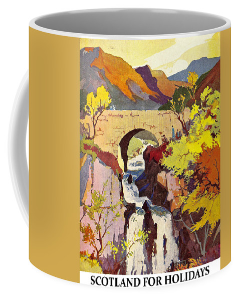 Scotland Coffee Mug featuring the digital art Scotland For Holidays 1 by Long Shot