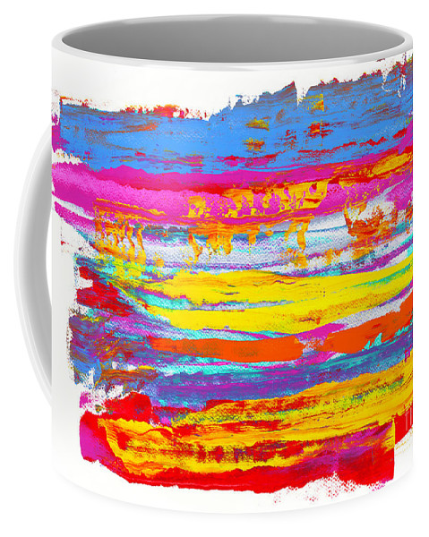 Sunrise Coffee Mug featuring the painting Tequila Sunrise by Bjorn Sjogren
