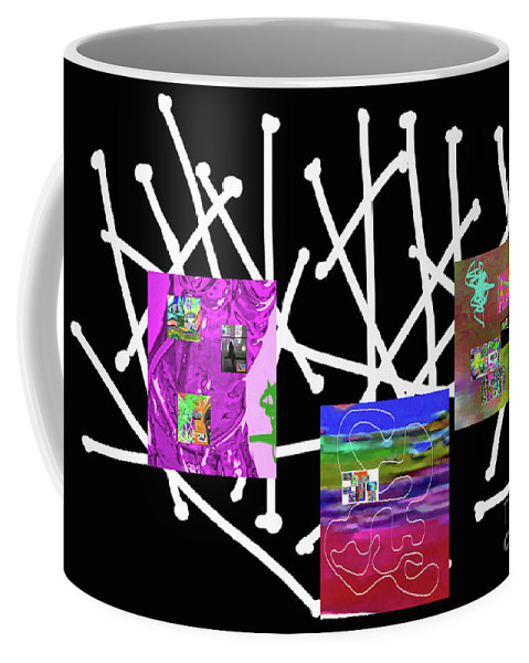 Walter Paul Bebirian Coffee Mug featuring the digital art 10-22-2015babcdefghijklmnopqrtuvwxyzabcdefghijkl by Walter Paul Bebirian