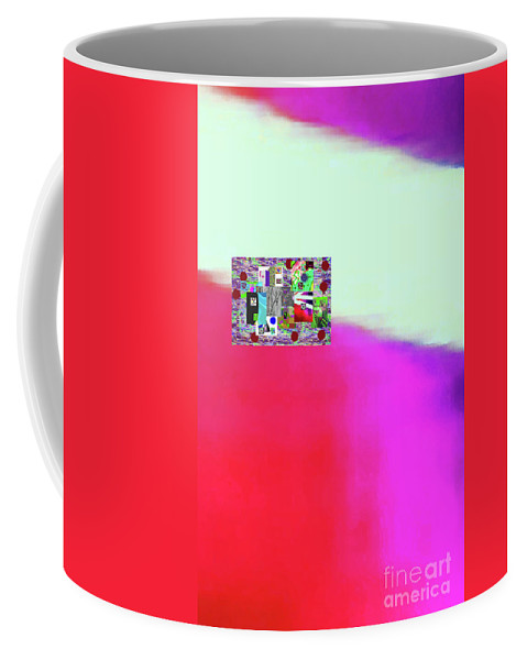 Walter Paul Bebirian Coffee Mug featuring the digital art 10-31-2015abcdefghijklmn by Walter Paul Bebirian