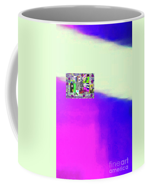 Walter Paul Bebirian Coffee Mug featuring the digital art 10-31-2015abcdefghijklmnopqrt by Walter Paul Bebirian