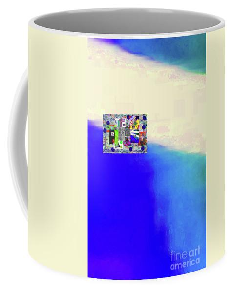 Walter Paul Bebirian Coffee Mug featuring the digital art 10-31-2015abcdefghijklmnopqrtuvwxy by Walter Paul Bebirian