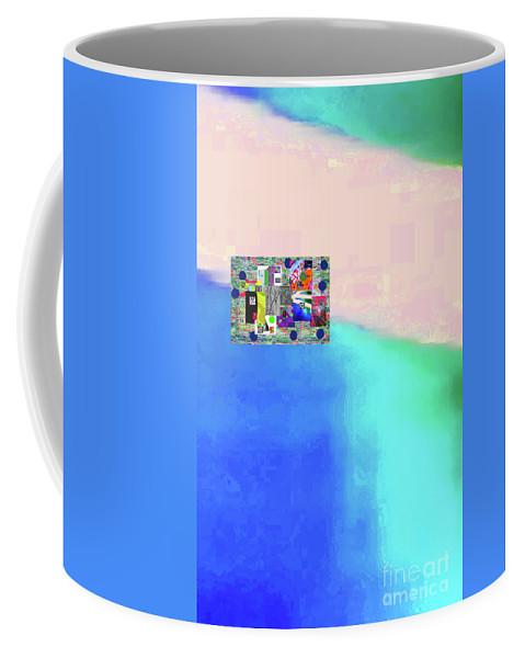 Walter Paul Bebirian Coffee Mug featuring the digital art 10-31-2015abcdefghijklmnopqrtuvwxyzab by Walter Paul Bebirian