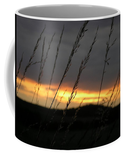 Photo Coffee Mug featuring the photograph Photograph Of A Sunset by PM Artistic