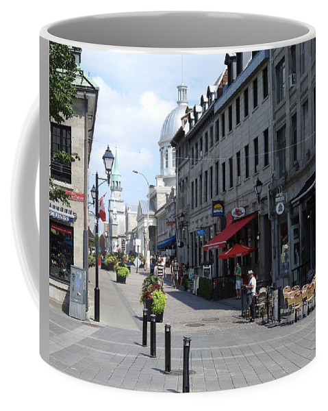 Old Montreal Coffee Mug featuring the photograph Old Montreal by David Gorman