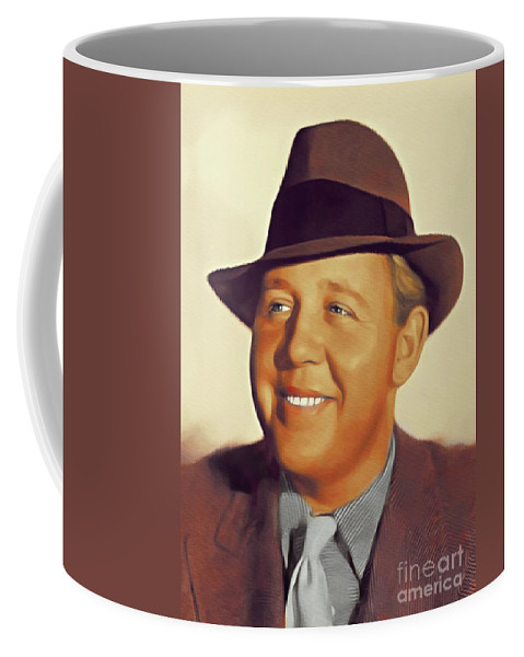 Charles Coffee Mug featuring the painting Charles Laughton, Vintage Actor by John Springfield