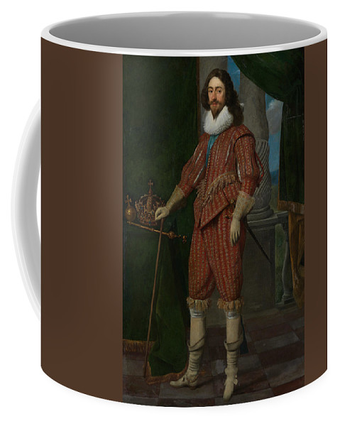 17th Century Art Coffee Mug featuring the painting Charles I, King Of England by Daniel Mijtens