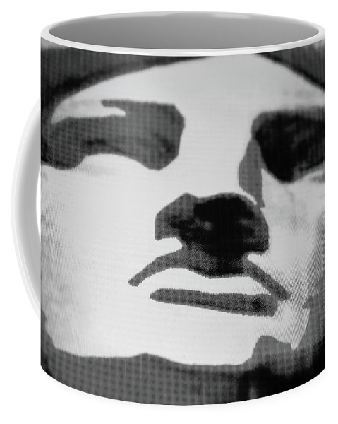 Statue Of Liberty Coffee Mug featuring the photograph Lady Liberty In Black And White by Rob Hans