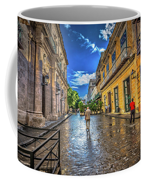 Havana Cuba Coffee Mug featuring the photograph Havana by Bill Howard