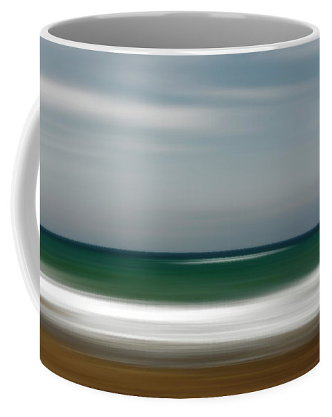 Photography Coffee Mug featuring the photograph Abstract Waves by Vicente Sargues