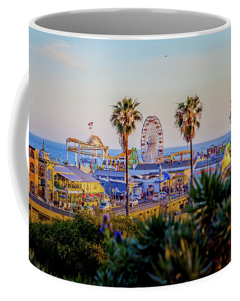 Los Angeles Coffee Mug featuring the photograph Adventure Time by Az Jackson
