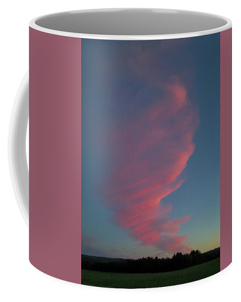 Sky Coffee Mug featuring the photograph Afterglow by Jerry LoFaro