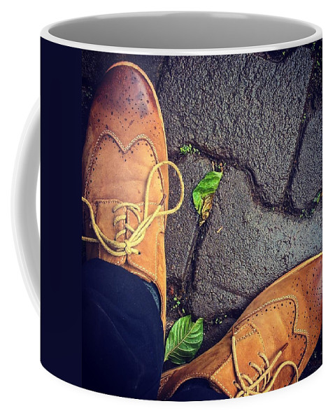 Shoes Coffee Mug featuring the photograph Afternoon delight by Mark Ddamulira