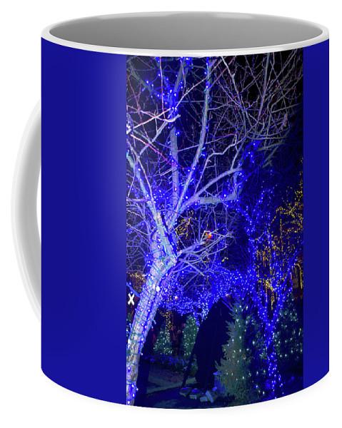 Christmas Coffee Mug featuring the photograph Christmas Light Tour 2017 by Carol Jackson