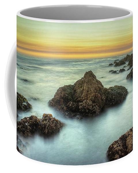Asilomar State Beach Coffee Mug featuring the photograph Asilomar Sunset by Morgan Wright