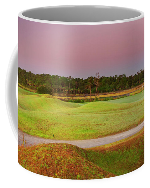 Beaufort County Coffee Mug featuring the photograph Back From Twelve by Phill Doherty