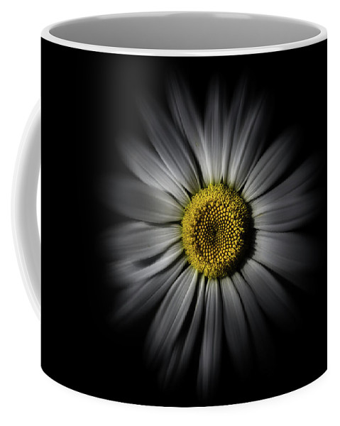 Abstract Coffee Mug featuring the photograph Backyard Flowers 52 Color Flow Version by Brian Carson
