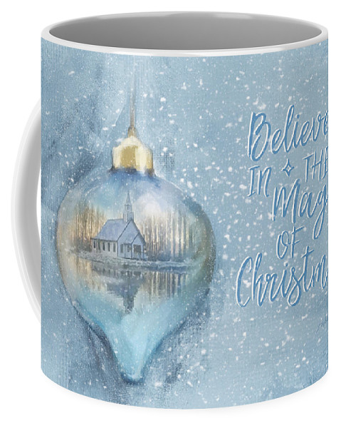 Believe In The Magic Coffee Mug featuring the photograph Believe In The Magic - Hope Valley Art by Jordan Blackstone