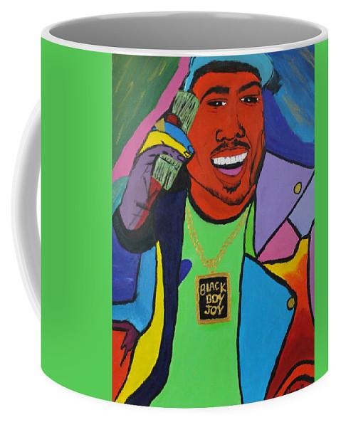 Happiness Coffee Mug featuring the photograph Black Boy Joy by Sonye Locksmith