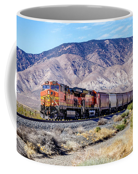Bnsf5342 Coffee Mug featuring the photograph Bnsf5342 by Jim Thompson