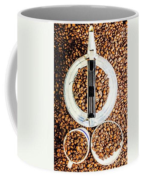 Coffee Coffee Mug featuring the photograph Bottomless Refills by Jorgo Photography - Wall Art Gallery