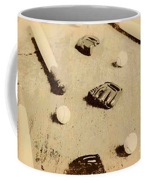 Sport Coffee Mug featuring the photograph Bygone Baseball by Jorgo Photography - Wall Art Gallery
