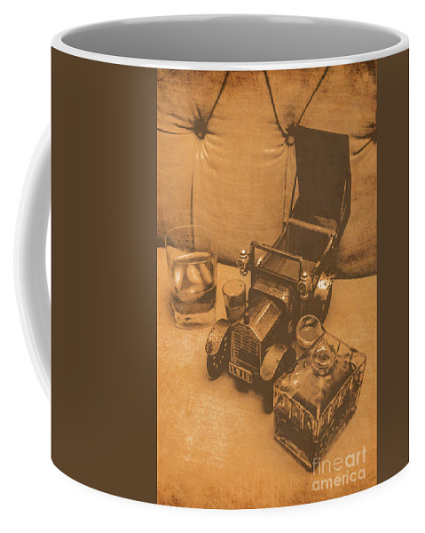 Vintage Coffee Mug featuring the photograph Bygone Bourbon by Jorgo Photography - Wall Art Gallery