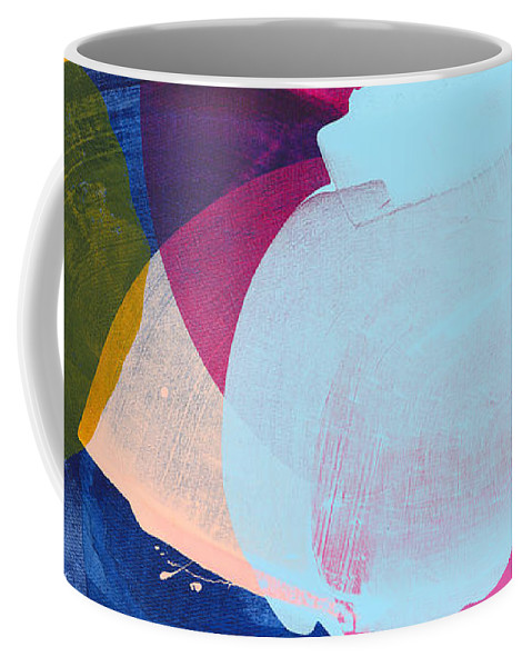 Abstract Coffee Mug featuring the painting California 06 by Claire Desjardins
