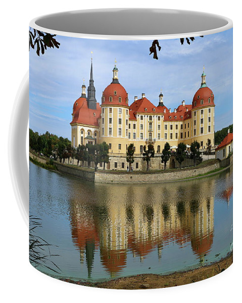 Castle Coffee Mug featuring the photograph Castle Moritzburg by Christiane Schulze Art And Photography