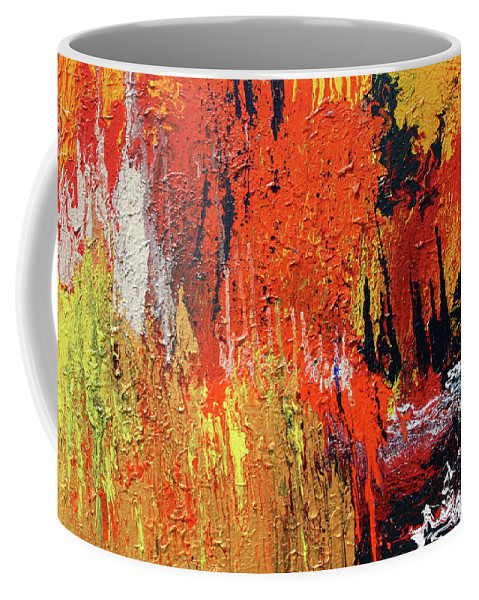 Fusionart Coffee Mug featuring the painting Chasm by Ralph White
