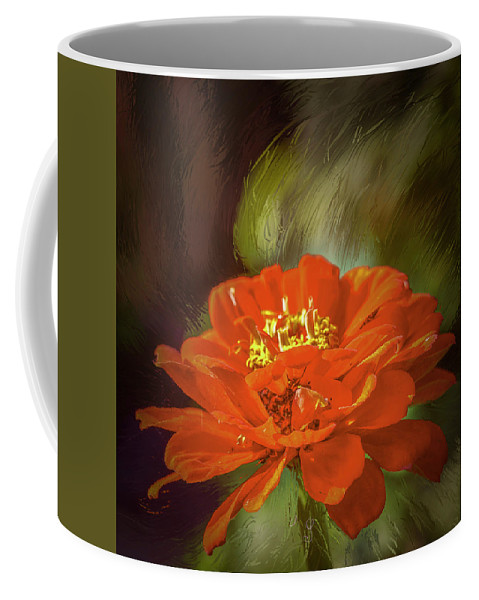 Childhood Colous Coffee Mug featuring the mixed media Childhood Colours #j1 by Leif Sohlman