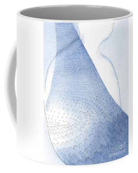 Light Coffee Mug featuring the painting Christs Light And Radiance Are Poured Unto Our Hearts by Elizabeth Wang