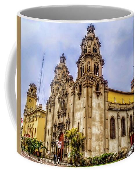 Old Church Coffee Mug featuring the photograph Church by Dado Molina