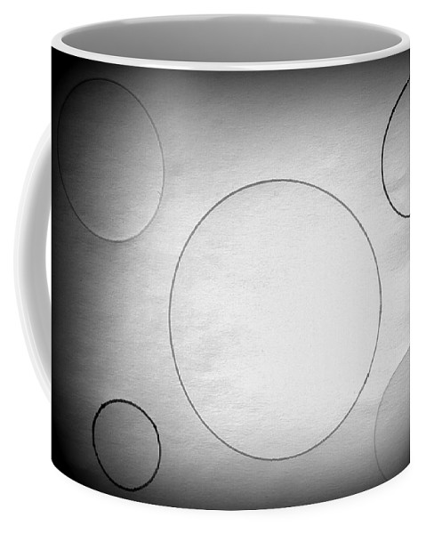 Drawing Coffee Mug featuring the drawing Circle In The Light-1 by Erma L George