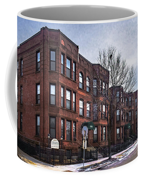 Minneapolis Coffee Mug featuring the photograph Cityview Cooperative, Minneapolis by Joel Friedman