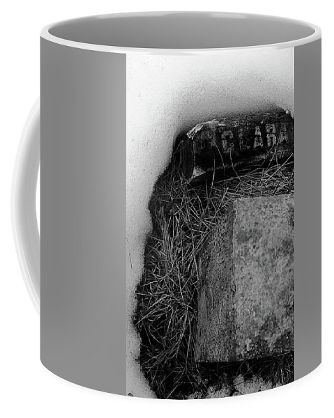 Grave Coffee Mug featuring the photograph Clara by Jeff Heimlich