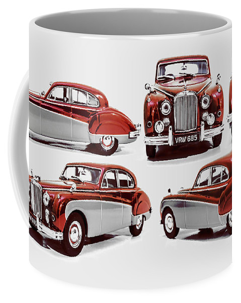 Jaguar Coffee Mug featuring the photograph Classically British by Jorgo Photography - Wall Art Gallery