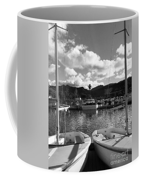 Sailing Coffee Mug featuring the photograph Clouds And Sailing by Amy Delaine