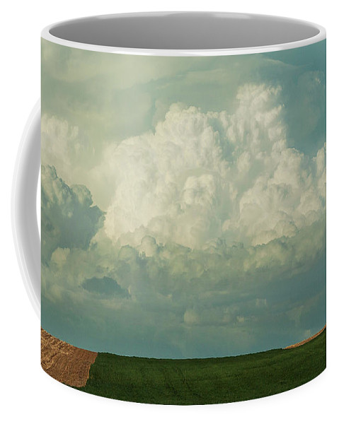 Colorado Coffee Mug featuring the photograph Colorado Clouds On Highway 14 by SL Ernst