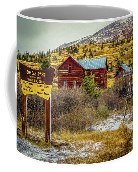 Jon Burch Coffee Mug featuring the photograph Continental Divide by Jon Burch Photography