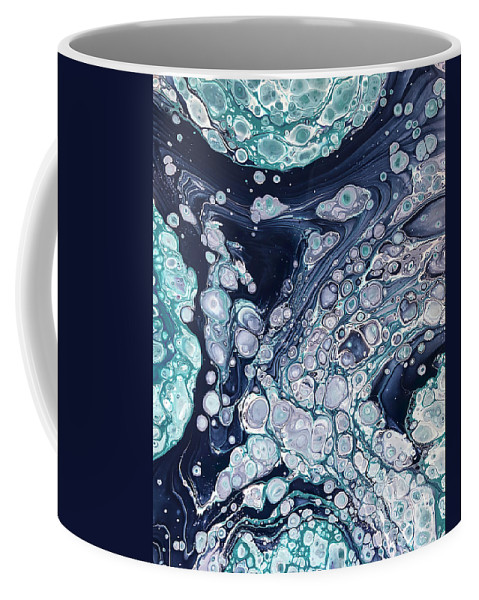 Acrylic Coffee Mug featuring the painting Cooling Off By Teresa Wilson by Teresa Wilson