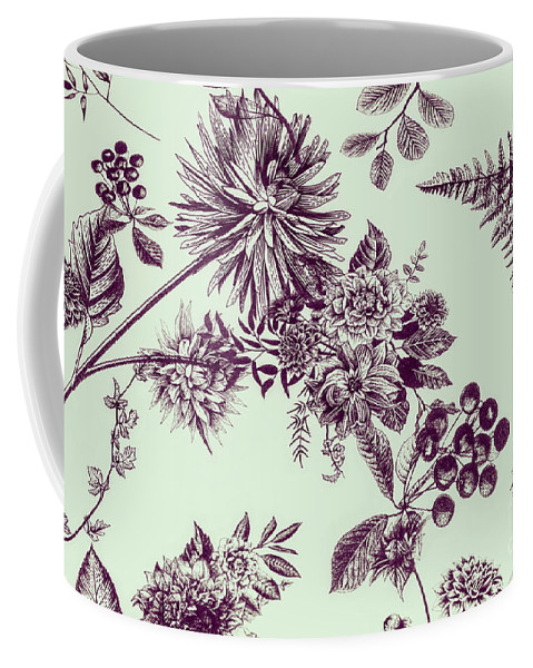 Ornate Coffee Mug featuring the photograph Dandelion Design by Jorgo Photography - Wall Art Gallery