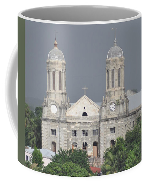 Building Coffee Mug featuring the photograph Domed Towers by John Hughes