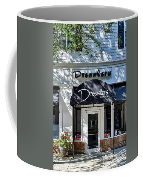 Birkdale Coffee Mug featuring the photograph Dresslers Restaurant At Birkdale Village by Amy Dundon