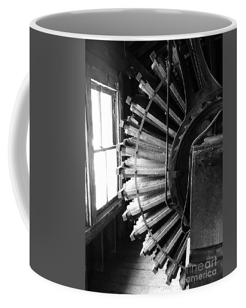 Patterson-altman Mill Coffee Mug featuring the photograph Dust Collector by Megan Cohen