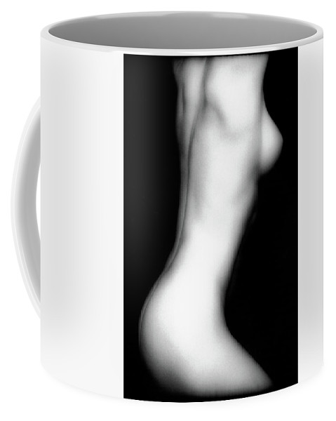 Nude Coffee Mug featuring the photograph Erica's Torso by Lindsay Garrett