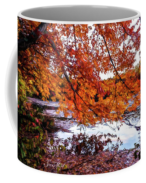 Pennsylvania Coffee Mug featuring the photograph French Creek 15-107 by Scott McAllister