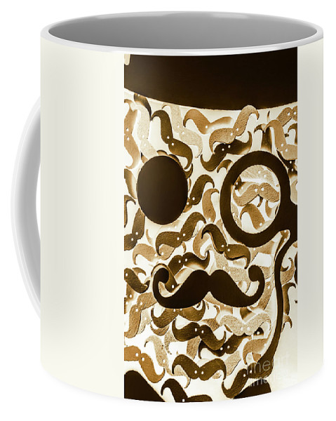 Barber Coffee Mug featuring the photograph Hairy Hipster by Jorgo Photography - Wall Art Gallery