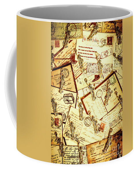 Landmark Coffee Mug featuring the photograph Hallmarks Of Travelling Old by Jorgo Photography - Wall Art Gallery