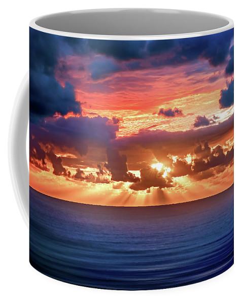 Abstract Coffee Mug featuring the photograph Hidden Spark by Az Jackson
